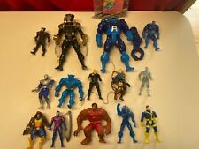 Marvel Toybiz Vintage Action Figure Lot X-Men All different sizes
