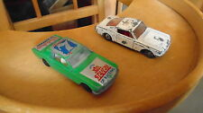voiture matchbox lesney et yatming lot de 2 ford mustang fastback no hot wheels