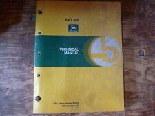 John Deere AMT 600 Vehicle Shop Service Repair Technical Manual Original TM-1363