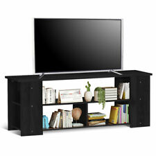 "TV Stand Entertainment Media Center Console Cabinet for TV's 50"" Bedroom Black"