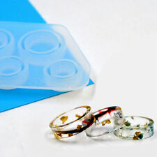 Silicone Assorted Ring Size Epoxy Molds for Resin Jewelry DIY Making Craft SET