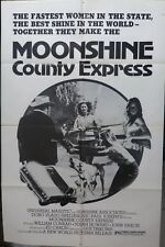 Moonshine county express movie poster,One sheet,original,1977