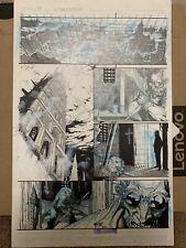 I, Frankenstein Movie 2014 Original Comic Art Page