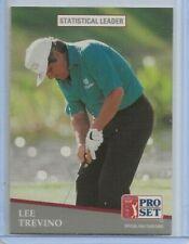 1991 Pro Set Lee Trevino Statistical Leader card