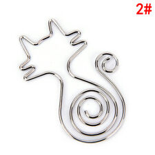 Paper Clips Metal Modelling Clips With Kawaii Greeting Card Stationary Clip SA