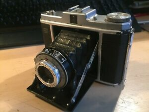 Vintage ZEISS Ikon Nettar Flip Out Bellow Lens with Novar Anastigmat 75mm 1:6.3