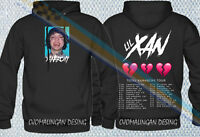 New Limited Edition Mecrh Rap Hip Hop Asap Lil Xan Xanarchy Hoodie Gildan All Sz