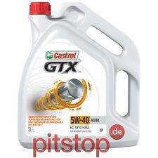 ORIGINALE CASTROL GTX 5w-40 a3/b4 5l 5 Litri Olio Motore Olio VW 502 00
