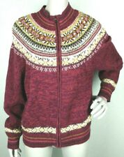 VTG Heirloom Collectibles Multi-Colored Knit Sweater Women's Size XL