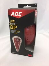 Ace teen athletic sport cup groin protection flexible edgeing New