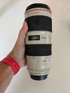 Canon EF 70-200mm F/2.8L IS II USM Telephoto Zoom Lens - Read Description!