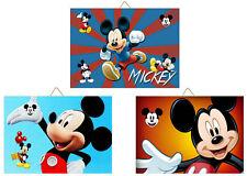 3 Cadres / Tableaux décoratifs chambre enfant - Mickey 00