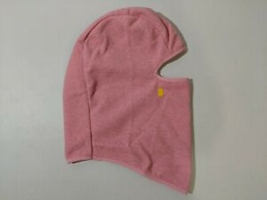 Lands' End Kid's Girl's Fleece Balaclava Pink S Small Face Mask New with Defects