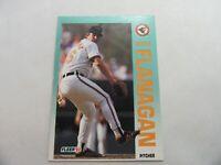 1992 Fleer Baltimore Orioles Baseball Card #7 Mike Flanagan