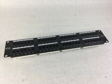 Belkin CAT5 Patch Panel Belkin 1R72 Wiring T568A&B E178881, 48 Port Panel
