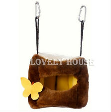 Tree Stool Hammock for Rat Hamster Squirrel Small Birds Hanging Bed Toy House