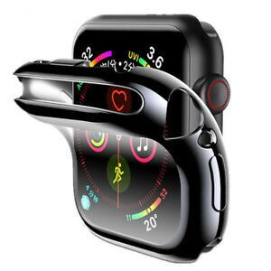 6/5/4/3/2 Series Case iWatch Accessories For Apple Watch 44mm Band Screen Shell