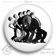 "Madness - SKA Mod 2 Tone Suggs One Step Beyond Vinyl Cover 25mm 1"" Badge"
