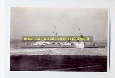 rp5758 - Royal Navy Warship - HMS Raleigh wrecked at Labrador - photo 6x4