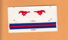 OLD 1970s SOUTHERN METHODIST SMU MUSTANGS SMALL FOOTBALL GUMBALL HELMET DECALS