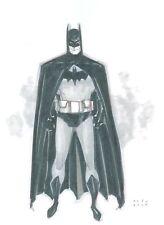 Original Comic Art Phil Noto Batman Convention Sketch 11x14
