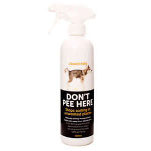 Clean N Tidy Sharples & Grant Don't Pee Here Spray 500ml -Pet Deterrent Solution