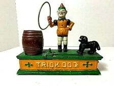 Trick Dog -  Cast Iron Mechanical Bank