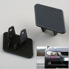 1Pair Bumper Headlight Washer Nozzle Cover Cap For BMW 3 Series E90 2005-2009