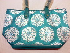 NWT Penelope Ann Todie's Tapered Tote - Aqua Splash