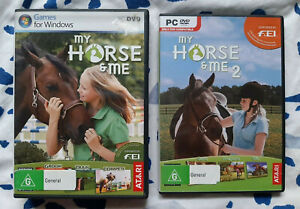 My Horse & Me + My Horse & Me 2 PC DVD Complete