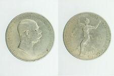 Silbermünze Franz Joseph I 5 Kronen  60 Jahr Jubiläum