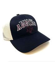 Texas A&M Aggies Snapback Hat Adjustable Mesh Trucker Cap