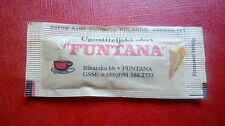 Bustina zucchero collezione BAR FUNTANA Croazia