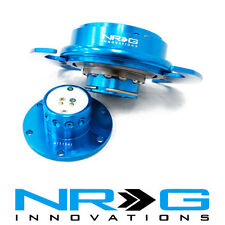 NRG 3.0 Gen Steering Wheel Quick Release Hub - New Blue / Blue Ring | SRK-650NB