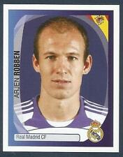 PANINI UEFA CHAMPIONS LEAGUE 2007-08- #348-REAL MADRID & HOLLAND-ARJEN ROBBEN