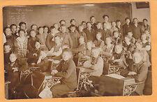 Real Photo Postcard RPPC - Schoolroom w/ Teacher and Students Markesan Wisconsin