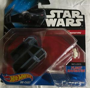 Hot Wheels Star Wars Darth Vader's Tie Fighter Advanced X1 Prototype Fast Ship