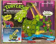 Teenage Mutant Ninja Turtles TMNT RETROCATAPULT OOZE ASSAULT Playmates MISB 1989