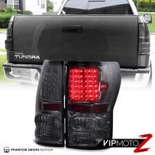 [SMOKE] For 2007-2013 Toyota Tundra LED SMD Rear Brake Lamp Tail Lights Assembly