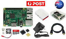 AU 8 In 1 Kit Raspberry Pi 2 Model B Module&Two Cases&HDMI&32G SD Card&Heatsink