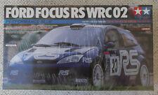 Tamiya 1:24 Ford Focus RS WRC 02 Rally Car - Factory Sealed - 24261