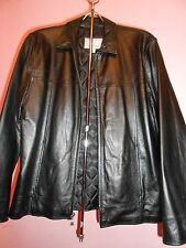 NICE WILSONS LEATHER MENS JACKETS 100% LEATHER SIZE S COLOR BLACK