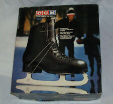 New in Box Ccm Youth Black Competitor Figure Skates Size 1 Unused High Quality