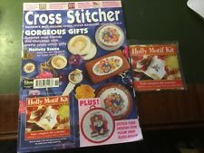 Vintage Cross Stitcher Magazine with free gift included