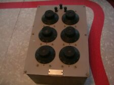 Vintage Leeds And Northrup 4750 Precision Resistance Box-Steampunk