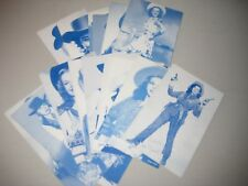 LOT OF 16 COWGIRL ARCADE CARDS