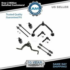 Front 10 Piece Kit Ball Joints Sway Link Tie Rod for Ford Ranger Explorer