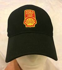"Shell ""Motor Oil Expert Club"" Logo Black Cap Hat Gas Station Petrol Strapback"
