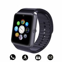 Bluetooth Smart Watch Touch Screen Sim Card Camera For IOS iPhone Android Phone