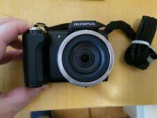 Olympus SP Series SP-610UZ 14.0MP Digital Camera - Black - 4GB SD - (CR)